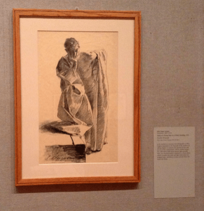 John Singer Sargent - Study of a Young Man in a Robe, Standing