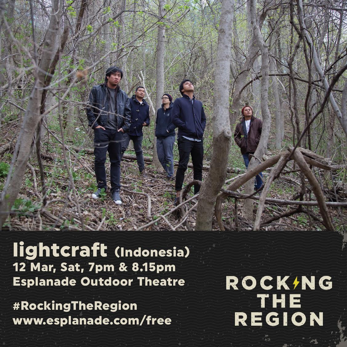 Lighcraft band Indonesia