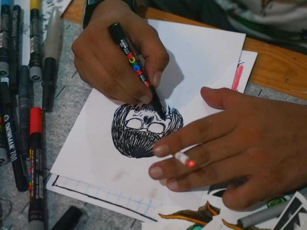 Mayatschism draw John Navid