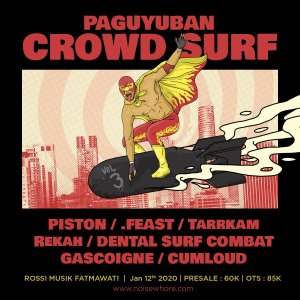 Poster acara Paguyuban Crowd Surf vol.03