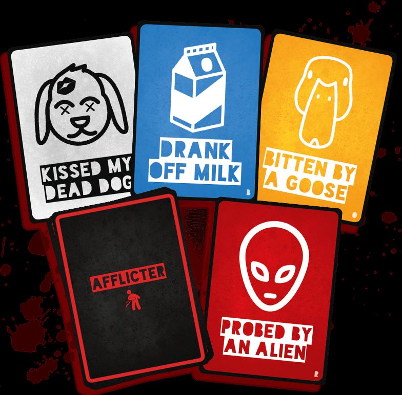 Afflicter Cards