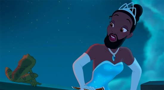 The Princess and the Beard