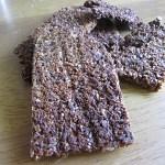 Zelfgemaakte crackers: Zoete zaad crackers en 3-minuut-lijnzaadcrackers
