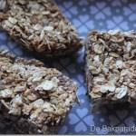 Tahini Karamel Chocolade Mueslirepen
