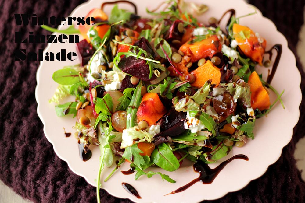 Winterse Linzen Salade