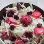 Salade Inspiratie: Witte Kool Aardbeien