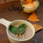 Vegan Kerstmenu Voorgerecht: Kastanje Soep