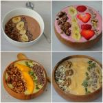 Smoothie Bowl 4 varianten