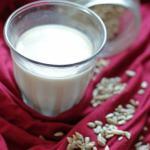 DIY Plantaardige melk: Zonnebloempit Melk