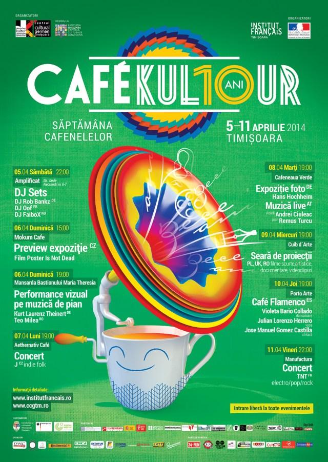 cafekultour-Plakat