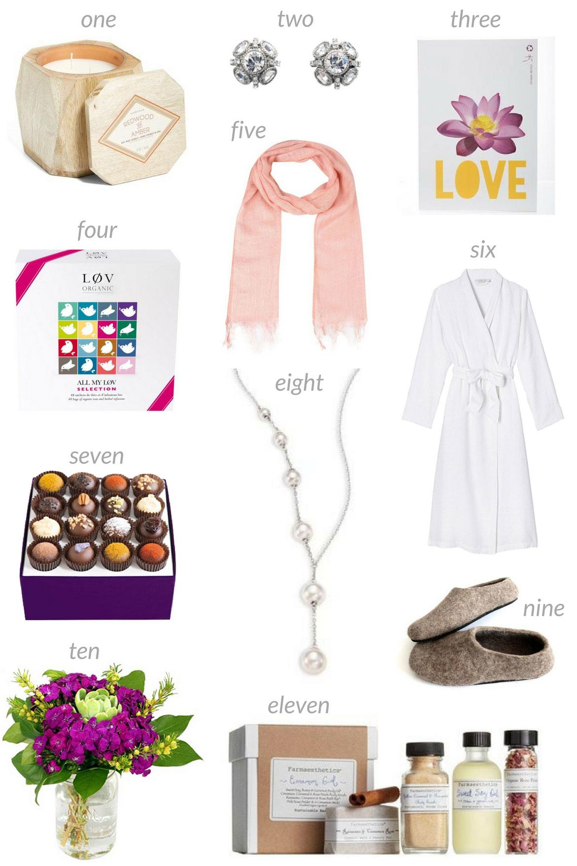 Collage of 11 Eco-Friendly Gifts Mom Will Love for Mother's Day