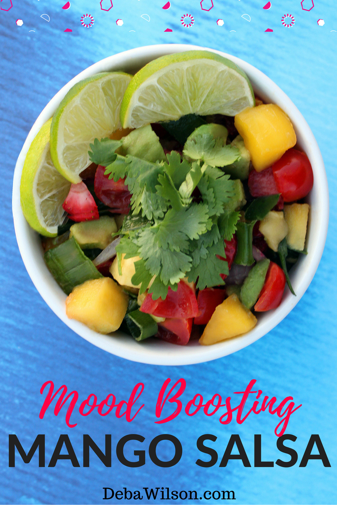 Fresh and Healthy Mood Boosting Mango Salsa Recipe