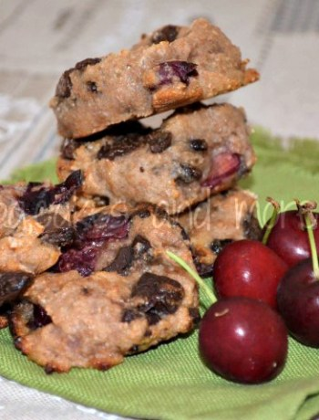 cherry light cookies