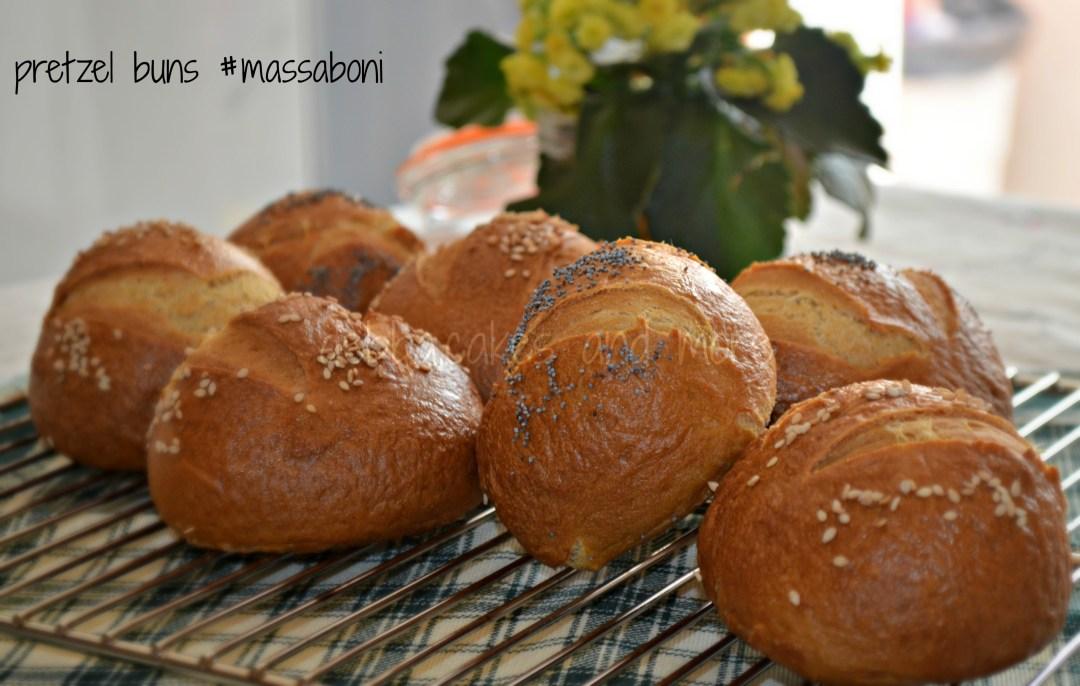 pretzel buns #massaboni