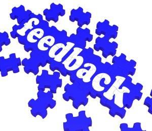 Feedback Puzzle Shows Satisfaction Surveys