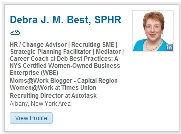 LinkedIn Profile Graphic Aug. 2014