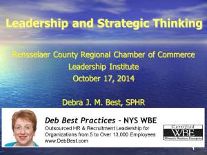 RCCC Leadership & Strategic Planning Presentation rev. Oct. 2014 final