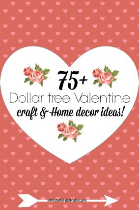 The Love Nerds Valentine S Day Decor With Pink Ombre And Hearts