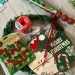 5 Minute Dollar Tree Christmas Wreath Debbiedoos