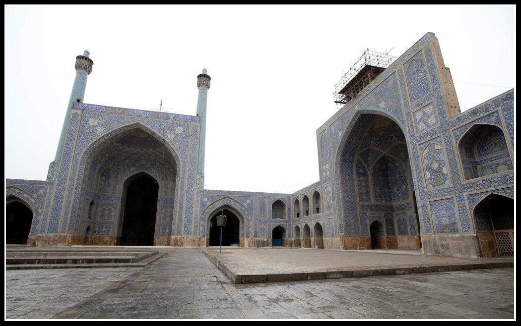 清真寺內的庭園