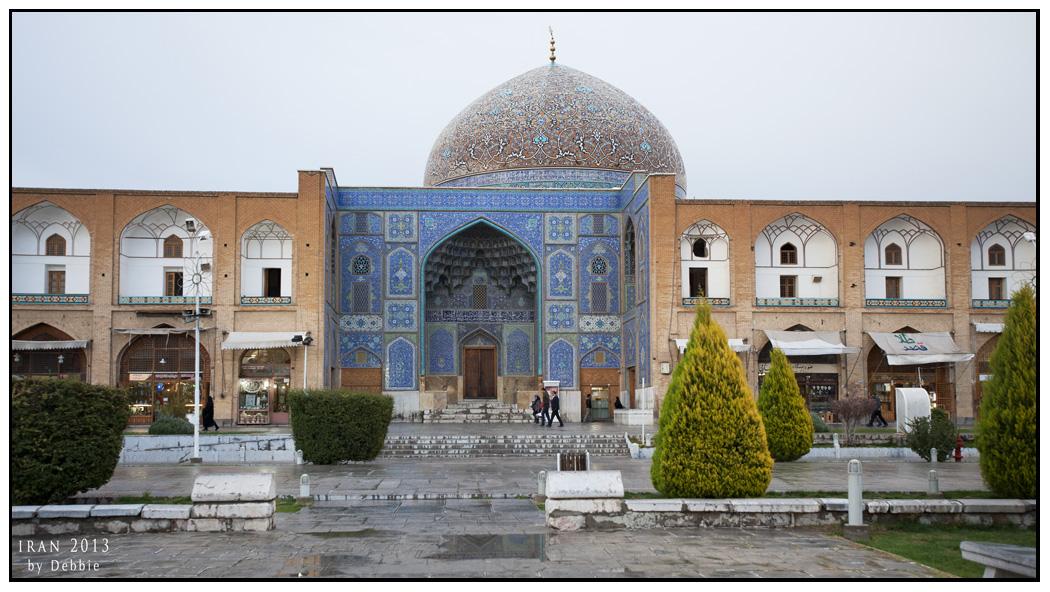 皇室專用的Sheikh Lotfollah Mosque