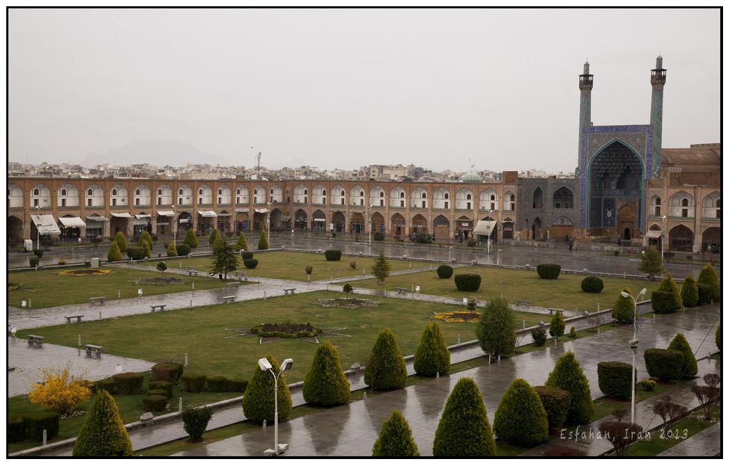 從 Ali Qapu Palace上看伊瑪目廣場