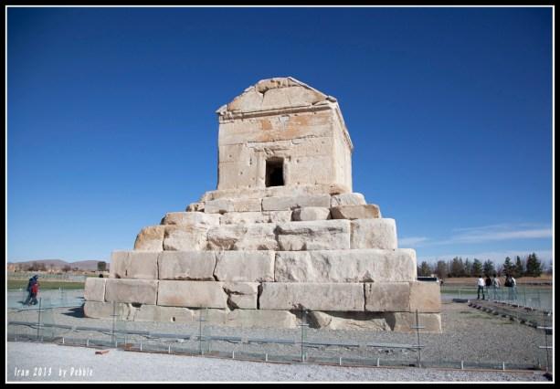 帕薩爾加德居魯士二世的陵墓