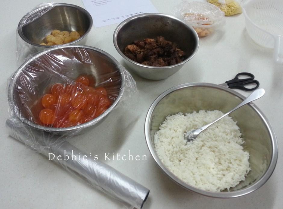 端午節食品 [鹹肉糭]