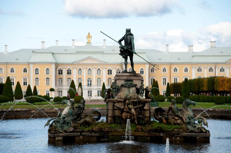 Fountain in Upper Garden