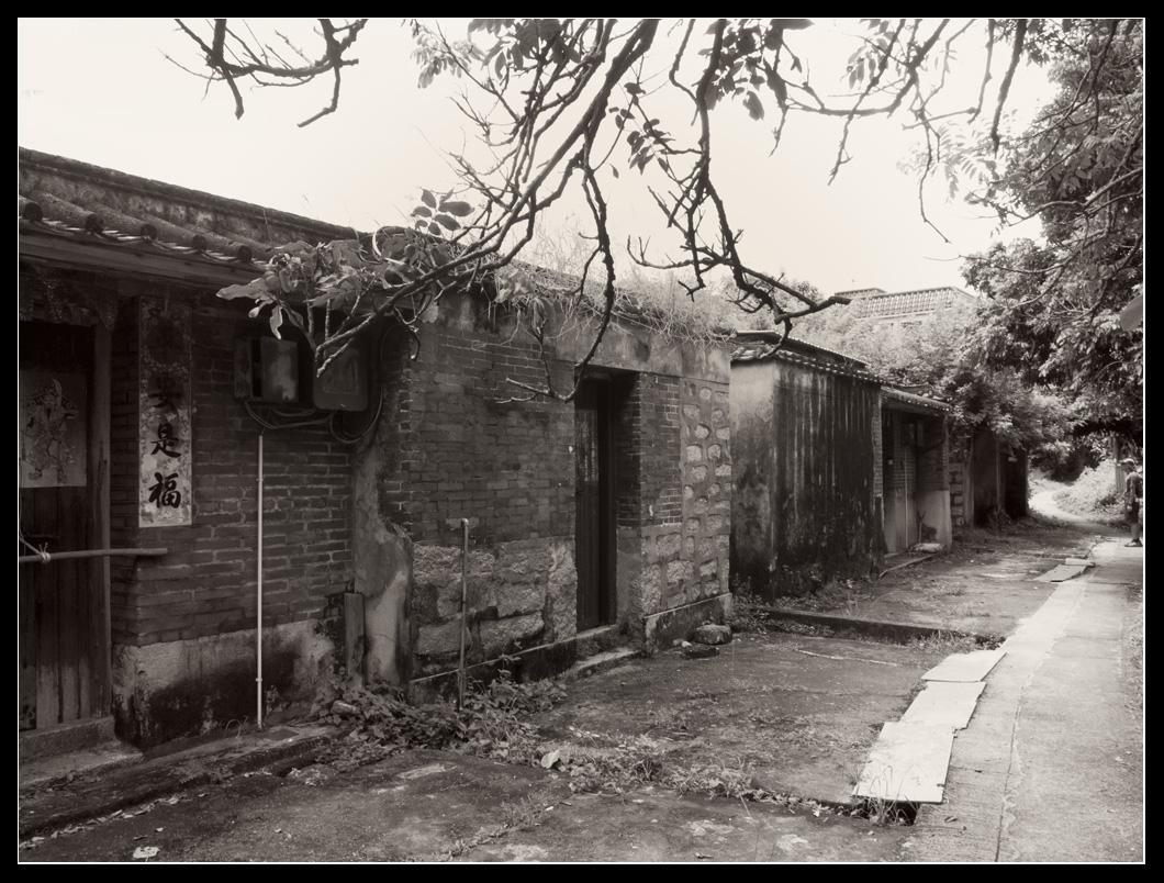 䃟頭村內古老石屋