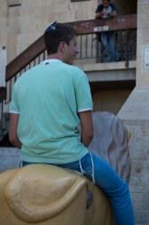 男士掛著的流鬚代表猶太教163條戒律,他們都須嚴守