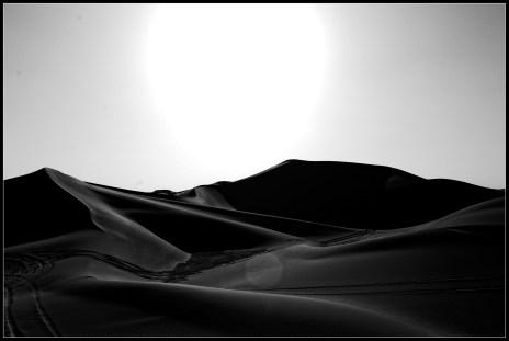 巴丹吉林的沙丘