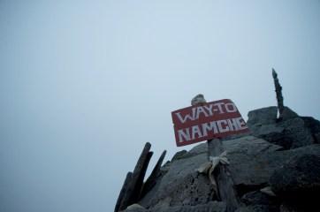 Same way down to Namche