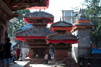 There are many temples and shrines in Durbar Square. This is a place for gathering and festivals.