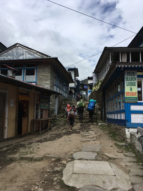 Mission accomplished - back to Lukla