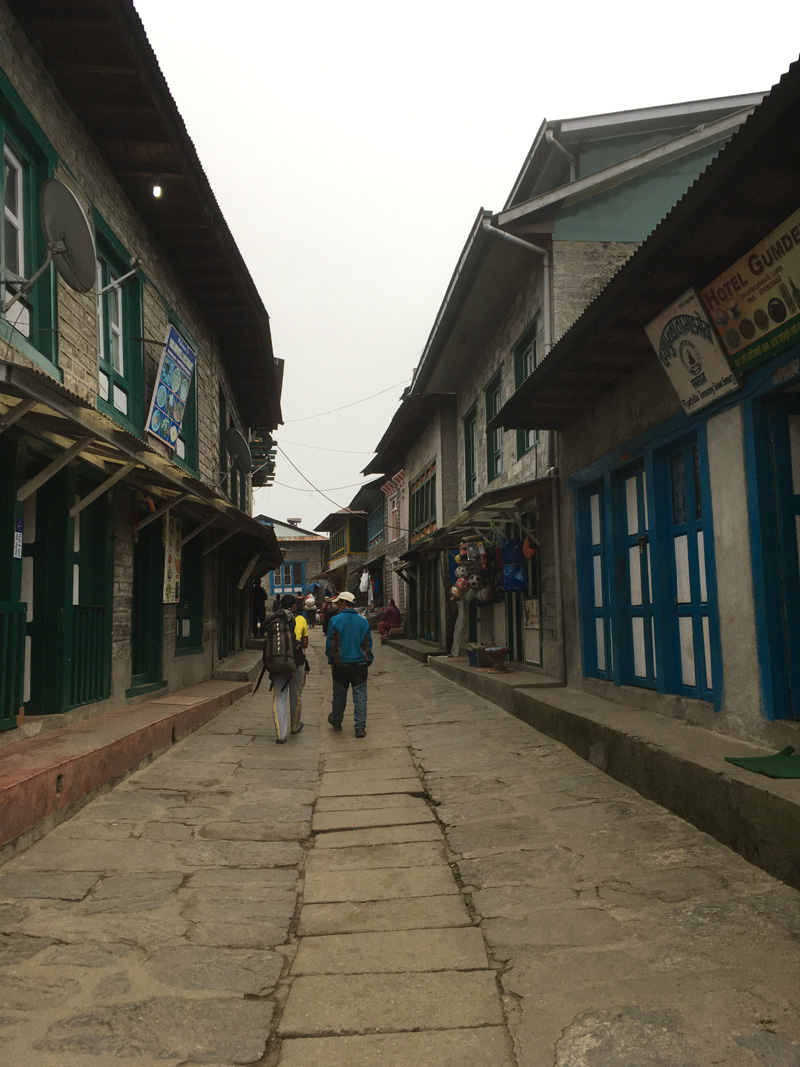 Finally we arrived Lukla in the afternoon.