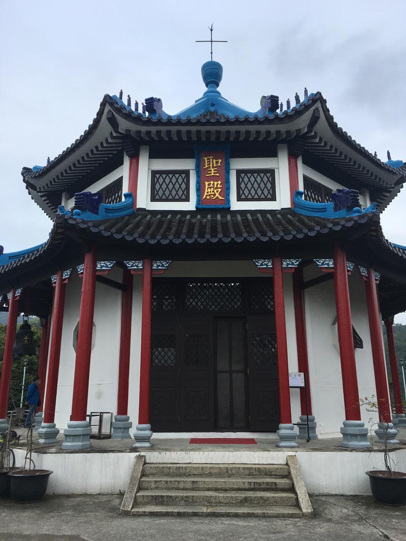 中式建築的聖殿