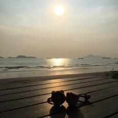 龍鼓灘日落