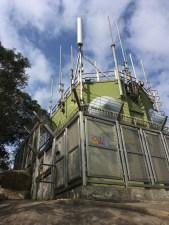 九逕山上的發射站
