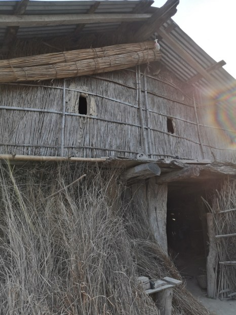 Tharu Houses are eco-friendly houses, built of locally available natural materials.