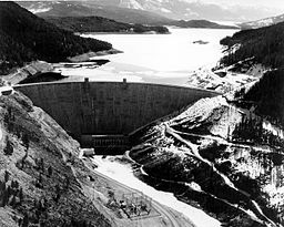 Hungry Horse Dam, Montana