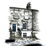 Commission - Pen & Ink, 2015