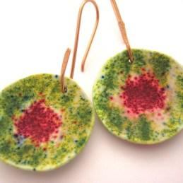 Debbie-Crothers-Polymer-Clay-Artist-Instructor-Leaves-Pendants-Earrings-BOHO