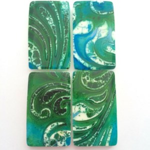 Debbie-Crothers-Polymer-Clay-Artist-Instructor-Crackle-Shards