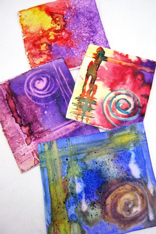 Debbie-Crothers-Polymer-Clay-Tutorial-Veneer-Pendant