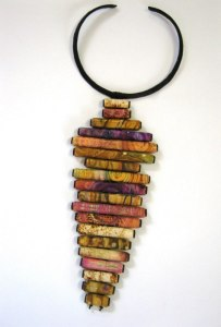 Debbie-Crothers-Polymer-Clay-Artist-Instructor-Necklace-Statement-Pendant-Threadhole-Art-Tutorial-Polymer How To-Polymer Clay-Tutorial-Polymer Tutorial