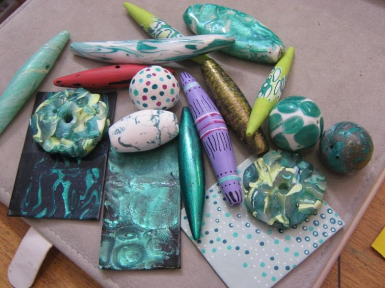 Tips-From-The-Studio-Polymer-Clay-Experimenting-Recording-Debbie-Crothers-Polymer-Clay-Artist-Instructor