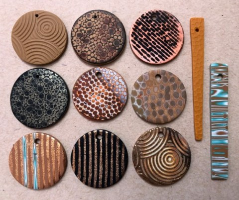 Debbie-Crothers-Polymer-Clay-Artist-Instructor-Texture-Stamps-Lucy-Struncova