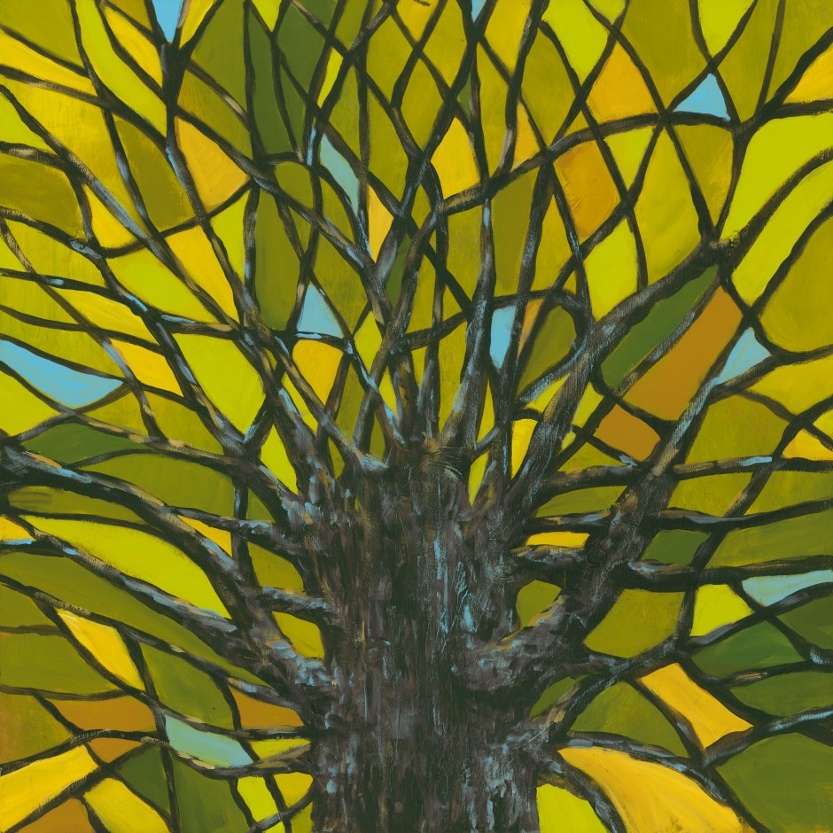 Green Tree Mosaic
