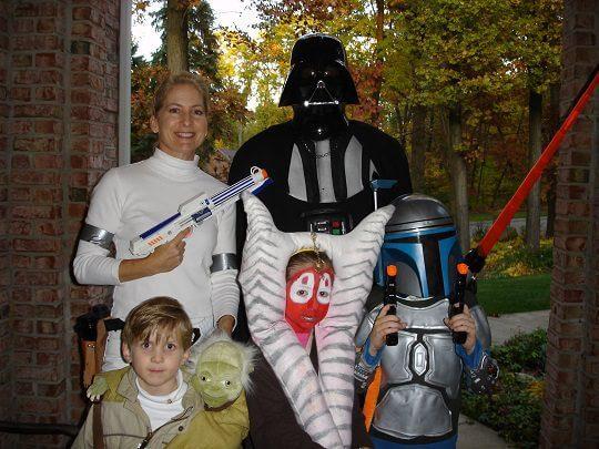 Star Wars Characters - Halloween 2008